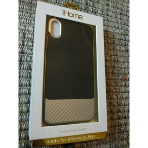 New iHome  Phone Case For iPhone Xr Black